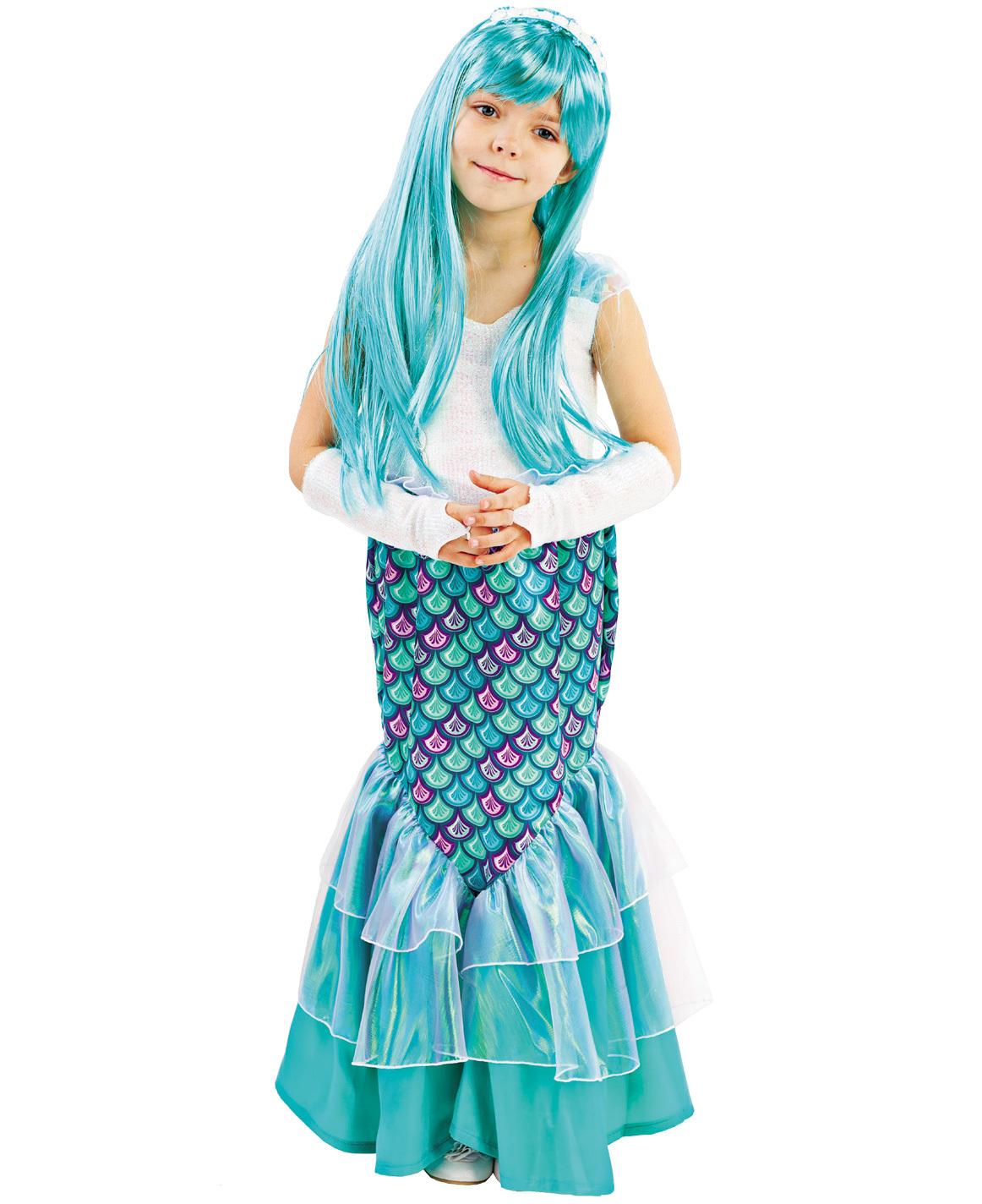 Карнавальный костюм детский Русалочка