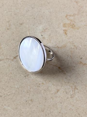 Кольцо Богена, серебряный цвет