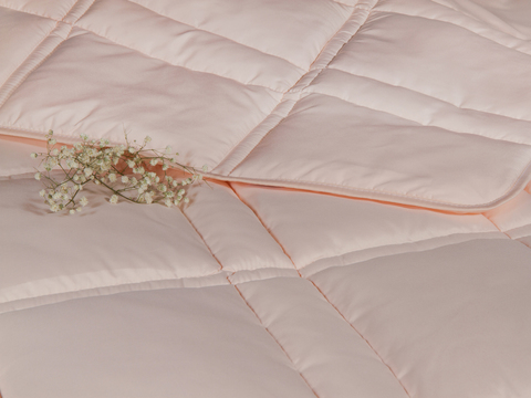 Одеяло CASABEL/Силикон персиковый, 150 gr/m2