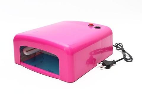 УФ лампа 36 вт. Цвет Розовый