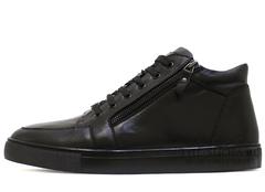 Кеды Мужские Philipp Plein Low-Top Double Zip Classic Leather (с Мехом)
