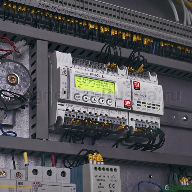 Контроллер Segnetics Pixel с модулем расширения MR602