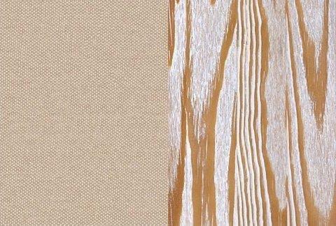 Ткань/Массив, Лофти Айвори/Белая эмаль с патиной золото (браширование)