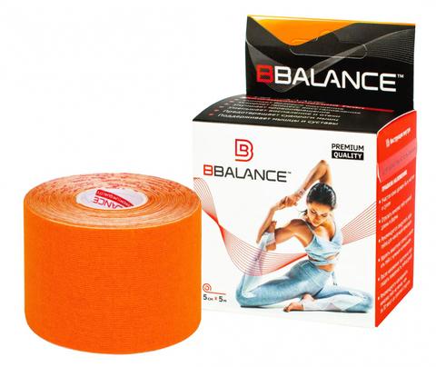 Тейпы для тела BB TAPE™ 5см*5м хлопок оранжевый, BBalance Корея
