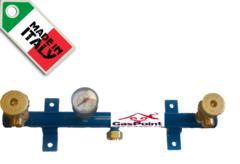Газовая рампа Cavagna Group на 2 баллона со шлангами