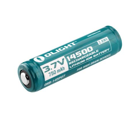 Аккумулятор Li-ion Olight ORB-145P07 14500 3,7 В. 750 mAh