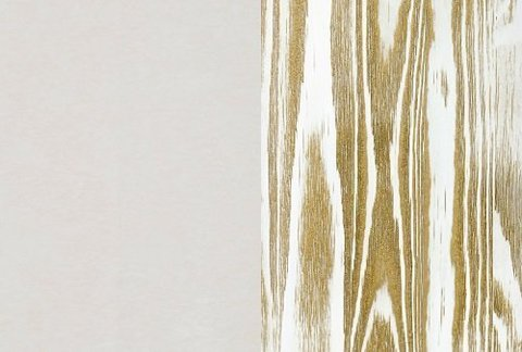 Ткань/Массив, Бентлей Айвори/Белая эмаль с патиной золото (браширование)