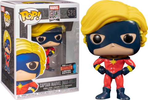 Marvel 80th Captain Marvel (Mar-vell) Funko Pop! Vinyl Figure (EXC) || Капитан Марвел