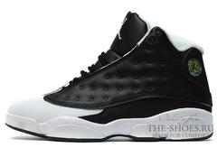 Кроссовки Мужские Nike Air Jordan XIII Black White
