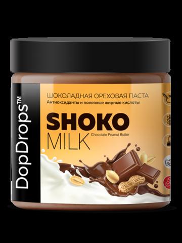 Паста ореховая молочный шоколад и арахис