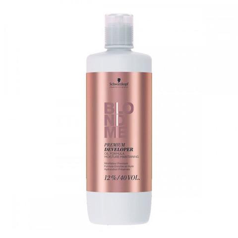 Schwarzkopf Blondme Premium Oil Developer 12% - Премиум окислитель с ухаживающей формулой