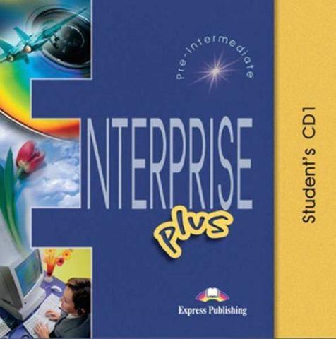 Enterprise Plus. Student's Audio CDs. (set of 2). Pre-Intermediate. Аудио CD для работы дома
