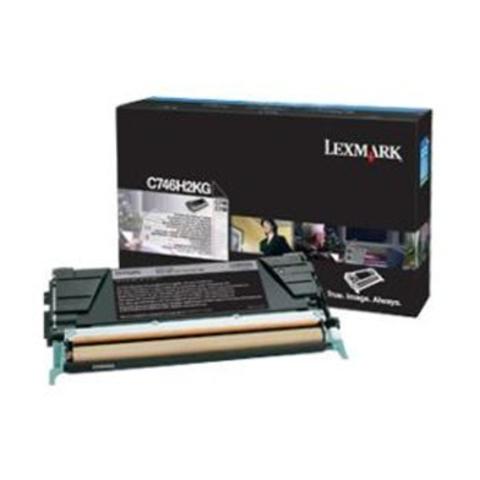 Картридж для принтеров Lexmark X746/X748 черный большой ёмкости (black). (X746H3KG)
