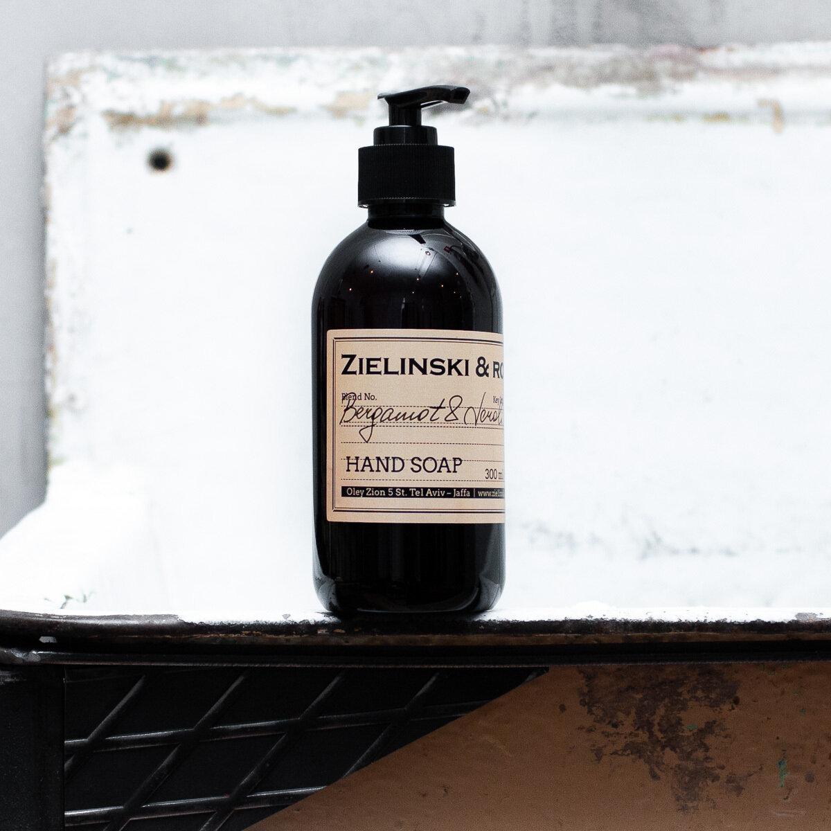 Жидкое мыло Bergamot Neroli Orange ZIELINSKI & ROZEN (300мл)