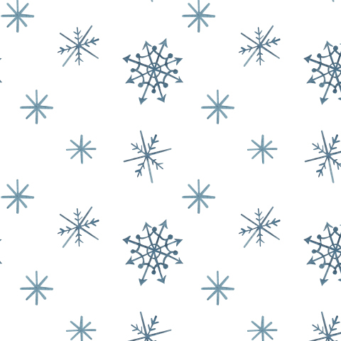 Снежинки абстрактные