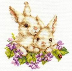 Набор для вышивания Алиса Крольчата
