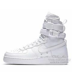 Кроссовки мужские Nike Air Force SF Urban All White