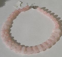 Лидия (розовый кварц)