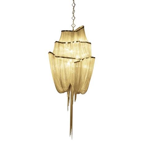Подвесной светильник копия  Stream by Terzani Atlantis 3 (золотой)