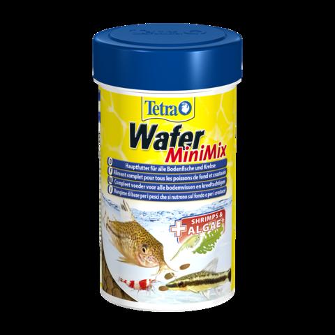 TetraWafer Mini Mix Сухой корм для донных рыб и ракообразных чипсы