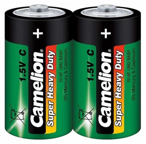 Батарейки Camelion Green R14, C (2/12/288)
