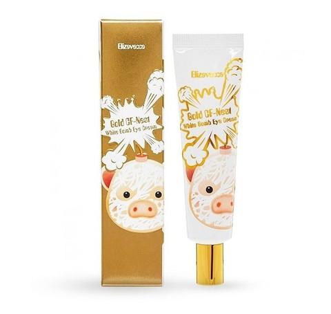 Крем для глаз с экстрактом ласточкиного гнезда Elizavecca Face Care Gold CF Nest White Bomb Eye Cream