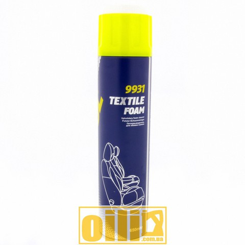 Mannol 9931 TEXTILE FOAM 650мл - Очиститель обивки салона пенный