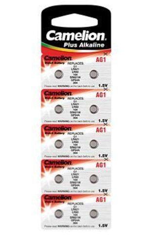 Батарейки Camelion AG 1 / 10 BL