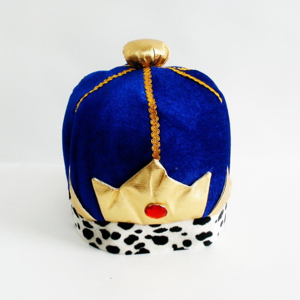 Шапка Короля синяя