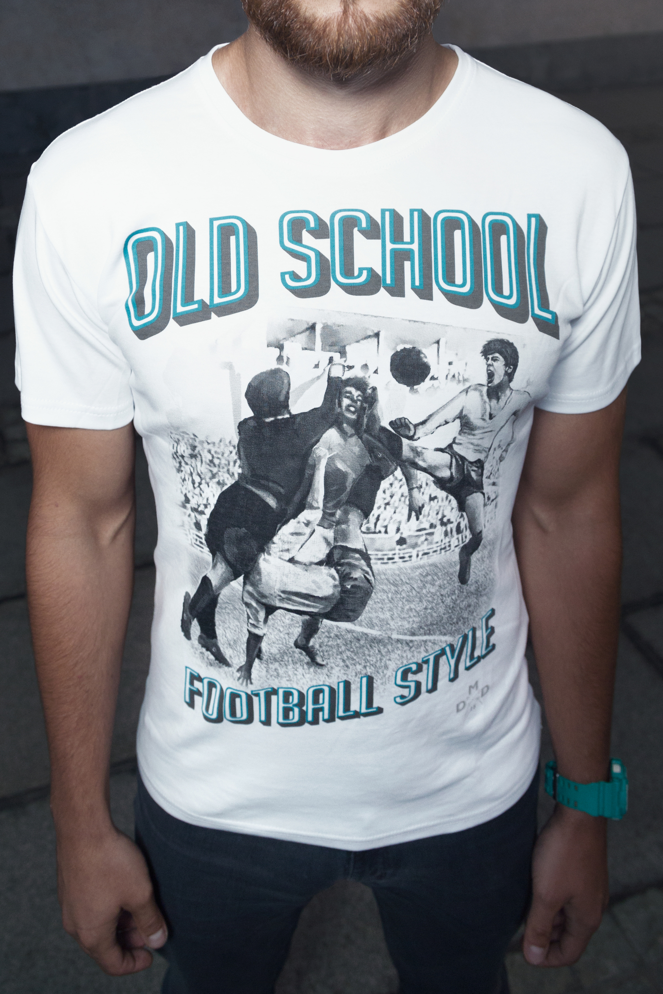 Футболка Old school football style