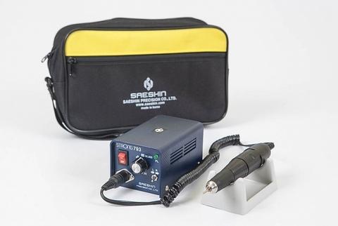 Аппарат для маникюра и педикюра Strong 793/102L без педали в сумке (35 000 об/мин)