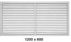 Решетка радиаторная 1200*600мм Эра П12060Р