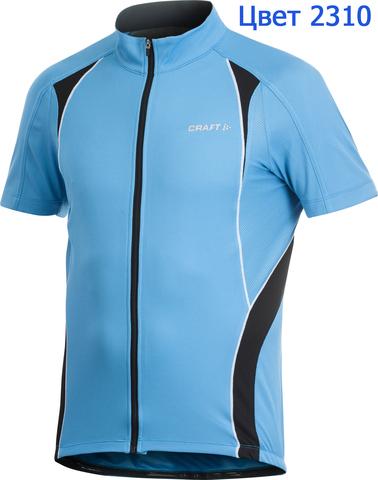 Велофутболка Craft Active мужская голубая