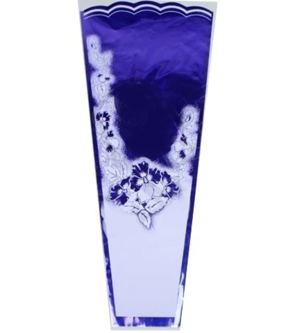 Конус Супер цветной/мет/рис 36/80 (упаковка-50 шт.) Цвет:фиолетовый