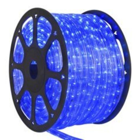 Гирлянда LED Дюралайт Delux светодиодная 2WRL Синий цвет