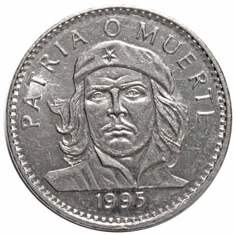 3 Песо 1995 г. КУБА. Че Гевара. AU