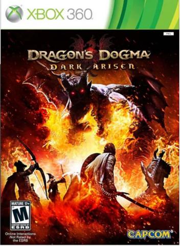Xbox 360 Dragon's Dogma: Dark Arisen (английская версия)