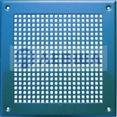 Решётка 210х210 мм, перфорация крупный квадрат