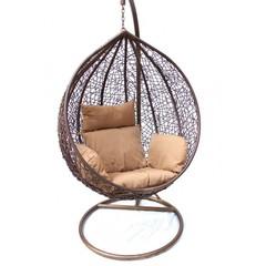 Подвесное кресло большое Kvimol КМ-0001 Brown