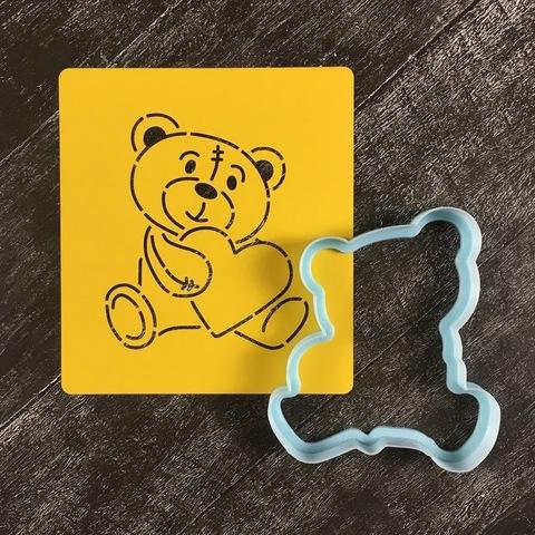 Мишка Тедди №3 с сердцем