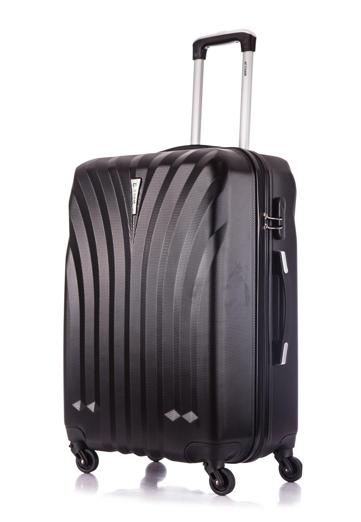 Чемодан со съемными колесами L'case Phuket-28 Черный (L)