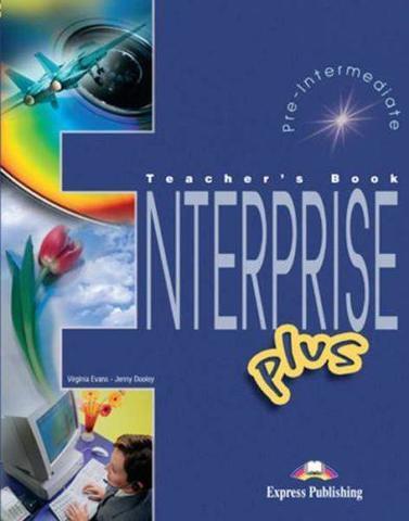 Enterprise Plus. Teacher's Book. (interleaved). Pre-Intermediate. Книга для учителя