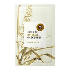 Saem Natural Oatmeal Mask Sheet - Тканевая маска для лица с овсянкой