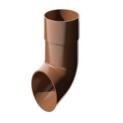Слив коричневый пластик