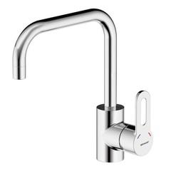 Смеситель для кухни с U-образным изливом Bravat Stream F737163C-2 фото