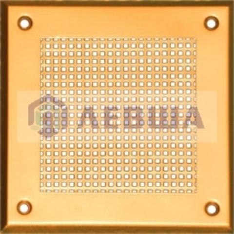 Решётка 210х210 мм, перфорация мелкий квадрат