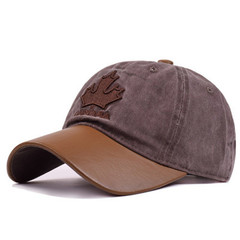 Кепка Канада коричневая (Бейсболка Канада коричневая)