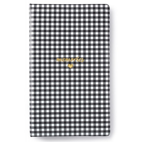 Альбом Tall Creative Photo Album от Webster's Pages -34/20/4 см-Black Check