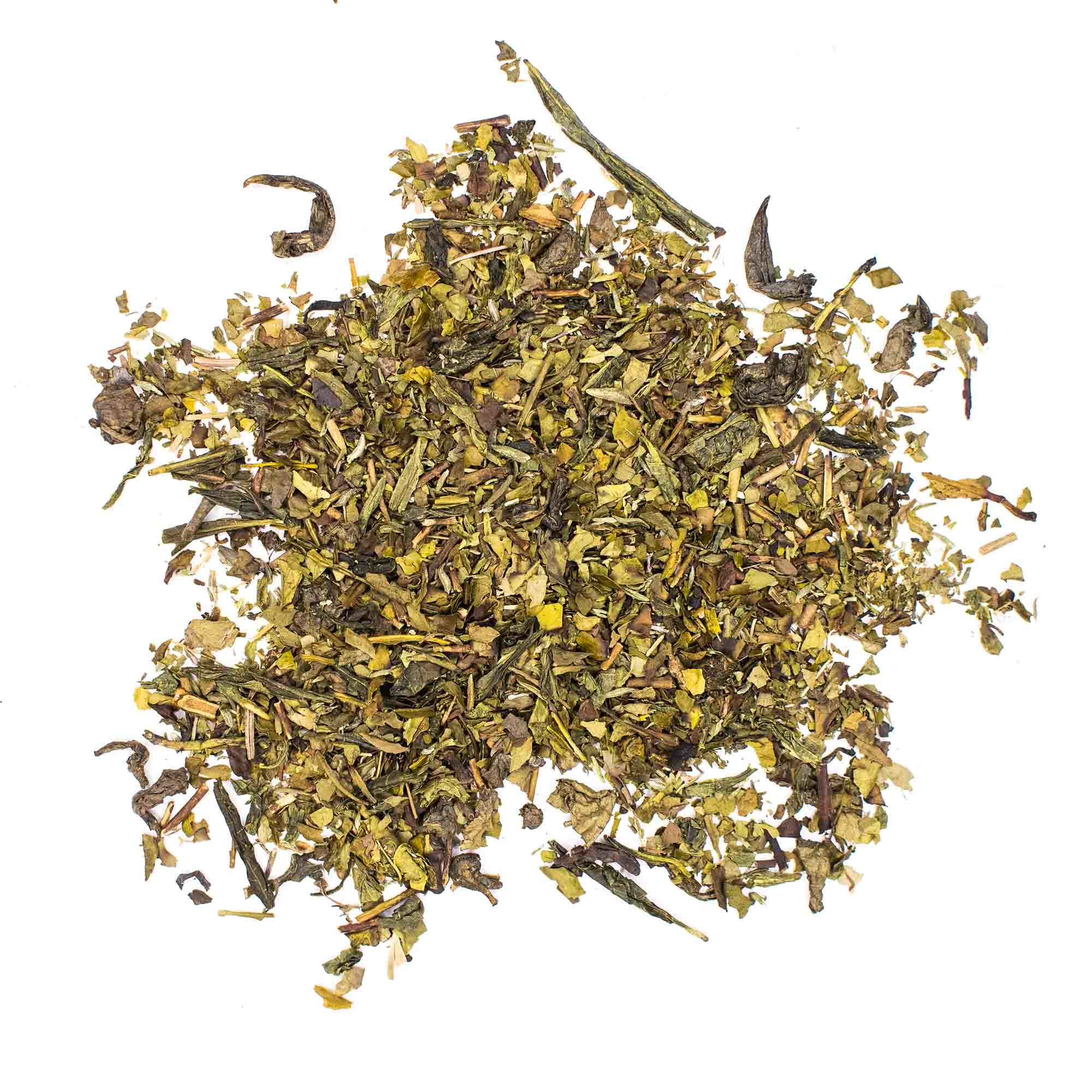 """Зеленый чай """"Зелёный с чабрецом"""" 100гр зелёный чай с добавками chayzelenyischabrecom-teastar.com.jpg"""