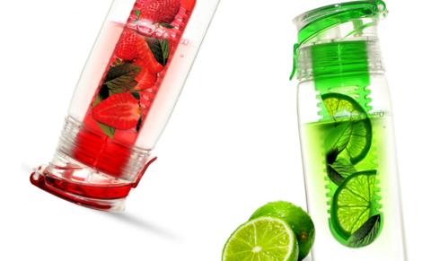 Бутылка Asobu Flavour it 2 go (0,6 литра), красная